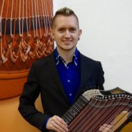 Zitherspieler Johannes Schubert